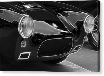 British Hot Rod Canvas Print - British Ac Auto 2 by Wes and Dotty Weber