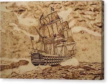 British Battleship Canvas Print by Iliev Petkov