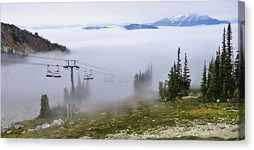 British Columbia, Whistler Canvas Print by Matt Freedman