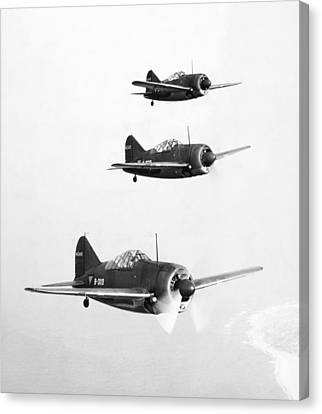 British Fighter Planes Canvas Print by Granger