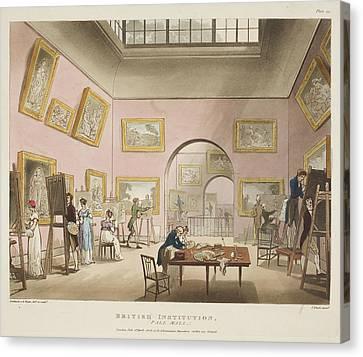 British Institution Canvas Print by British Library