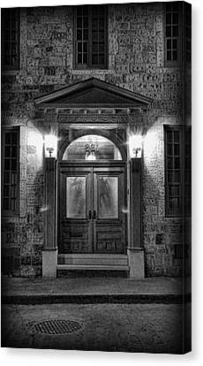 British - Jack The Ripper's Doorway II Canvas Print by Lee Dos Santos