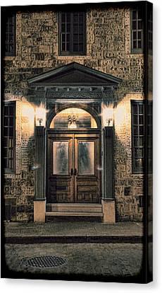 British - Jack The Ripper's Doorway IIi Canvas Print by Lee Dos Santos
