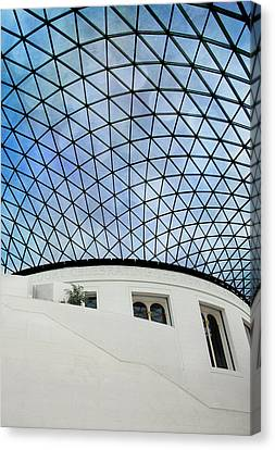 British Museum Canvas Print by Stephen Norris