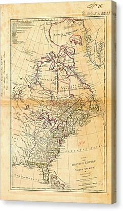 British North America Canvas Print