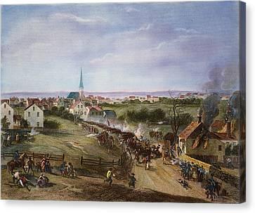 British Retreat, 1775 Canvas Print by Granger