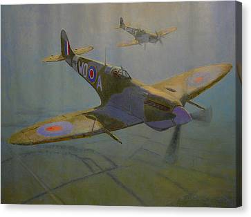 British Warbirds Canvas Print