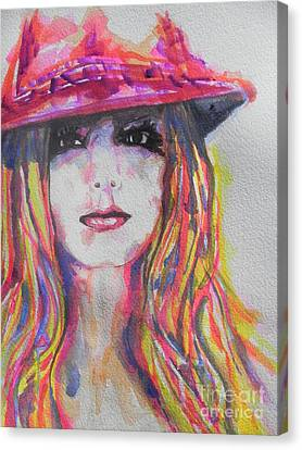Britney Spears Canvas Print by Chrisann Ellis