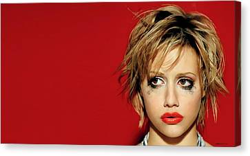 Brittany Murphy Tribute Canvas Print