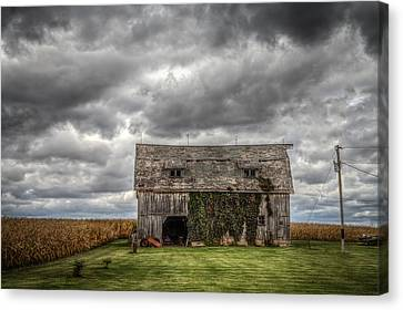 Broad Side Canvas Print by Ray Congrove