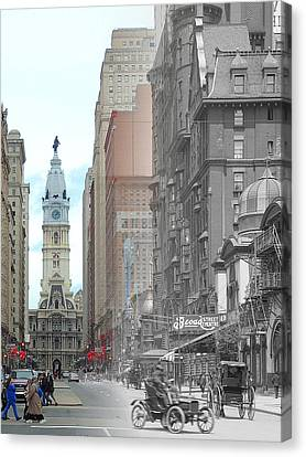 Broad Street Theatre Canvas Print