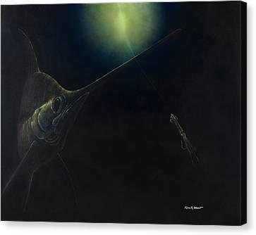 Broadbill Nights Canvas Print by Kevin Brant