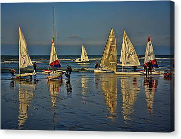 Broadstairs Sailing Canvas Print