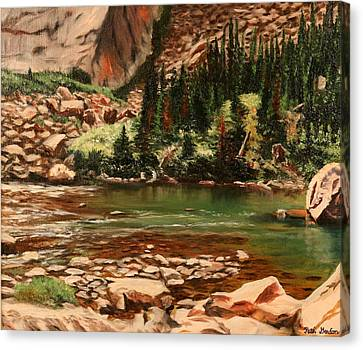 Broadwater Pond Canvas Print