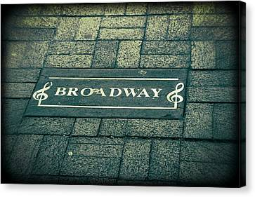 Broadway Canvas Print by Dan Sproul
