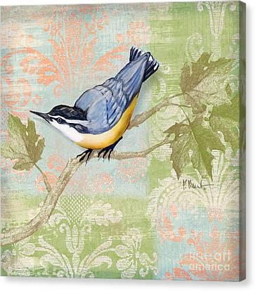 Brocade Songbird IIi Canvas Print by Paul Brent
