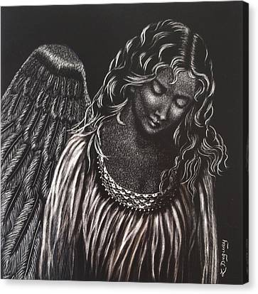 Broken Angel Canvas Print