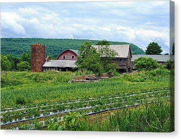Broken Barn Canvas Print by Kenneth Feliciano