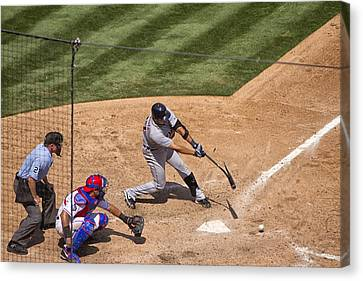 Broken Bat Canvas Print