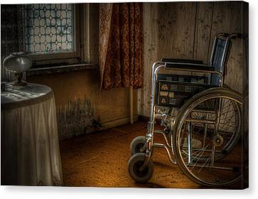 Broken Dreams Canvas Print by Nathan Wright