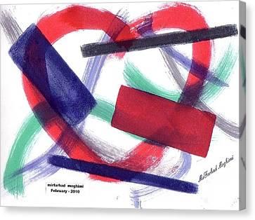 Broken Heart 01 Canvas Print