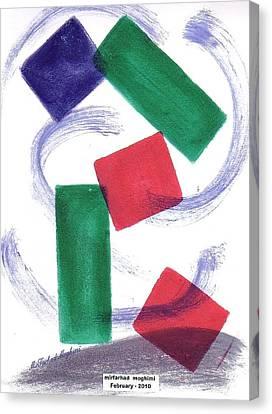 Broken Heart 05 Canvas Print