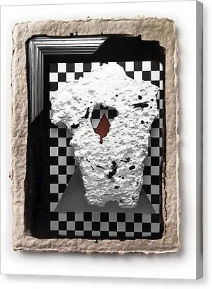 Broken Heart  Canvas Print by Mauro Celotti