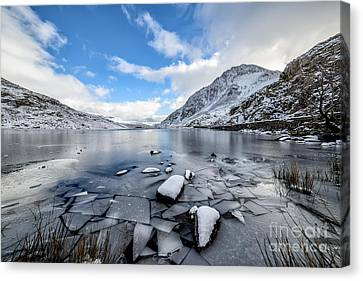 Broken Ice Canvas Print