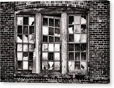 Broken Industrial Dreams Canvas Print by Olivier Le Queinec
