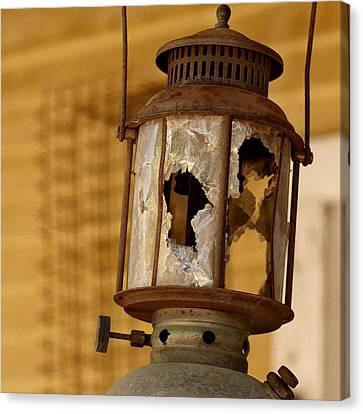 Broken Lantern Canvas Print by Art Block Collections