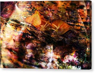 Broken Love Canvas Print by Adam LeCroy