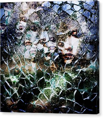 Ghost Canvas Print - Broken Mind by Azuto