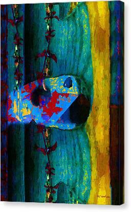 Broken Music Canvas Print by RC deWinter