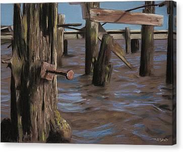 Abandoned Pier Canvas Print