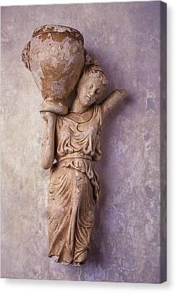 Broken Statue Canvas Print by Garry Gay