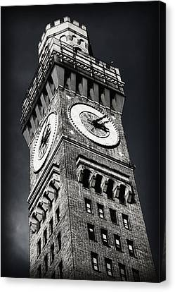 Emerson Canvas Print - Bromo Seltzer Tower No 12 by Stephen Stookey