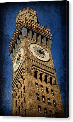 Emerson Canvas Print - Bromo Seltzer Tower No 3 by Stephen Stookey