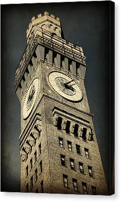 Emerson Canvas Print - Bromo Seltzer Tower No 7 by Stephen Stookey