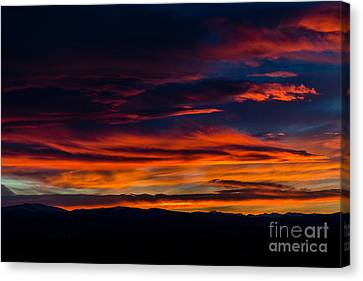 Bronco Sunset Canvas Print by Jon Burch Photography