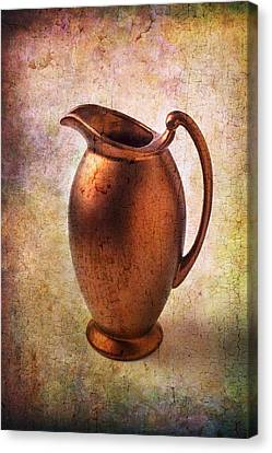 Container Canvas Print - Bronze Pitcher by Garry Gay