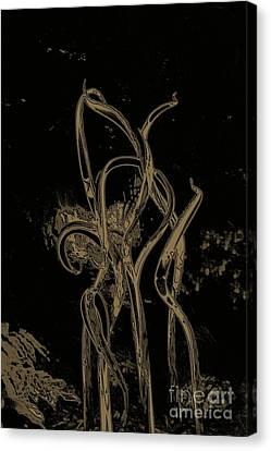 Bronze Rainforest  Canvas Print