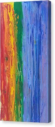 Rainbow Flow  Canvas Print