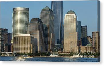 Brookfield Place In New York City - World Financial Center Canvas Print
