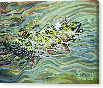 Brookie Flash Canvas Print
