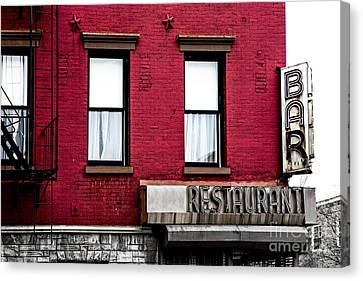 Brooklyn Bar Canvas Print by Diane Diederich