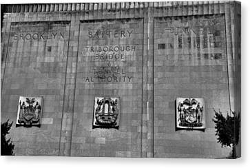 Brooklyn Battery Tunnel Canvas Print by Dan Sproul