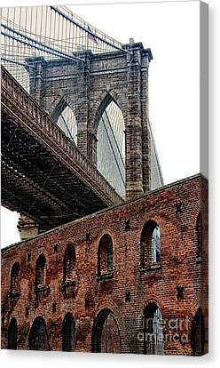 Brooklyn Bridge 2 Canvas Print by Bob Stone