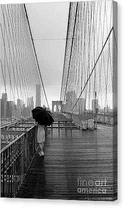 Brooklyn Bridge 5 Canvas Print by Bob Stone