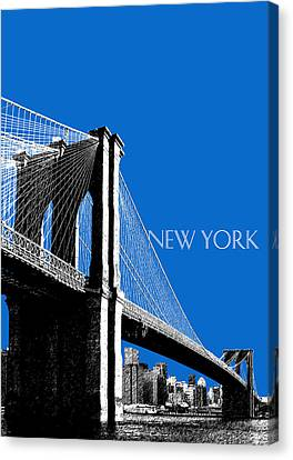 Brooklyn Bridge Canvas Print by DB Artist