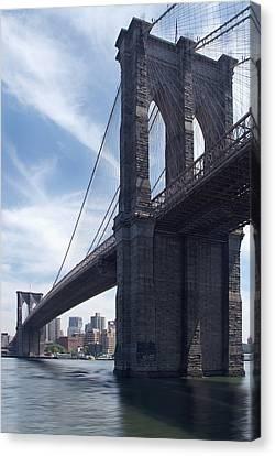 Brooklyn Bridge Canvas Print by Mike McGlothlen